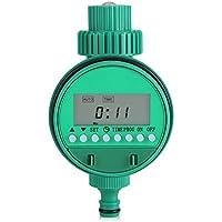 Regulador de la irrigación del jardín, regulador de riego inteligente digital impermeable del contador de tiempo del agua con la pantalla LCD
