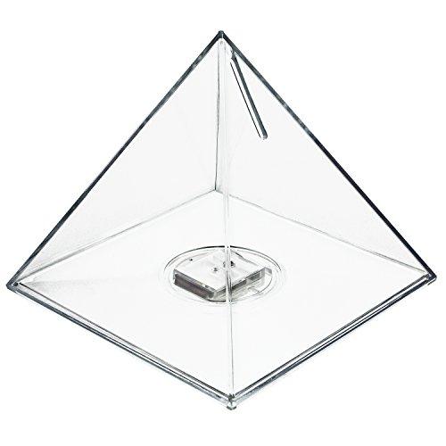 hmf-47600-money-box-savings-pyramid-acylic-12-cm