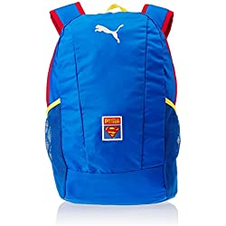 PUMA Rucksack Superman Cape Backpack - Mochila de ciclismo, color azul, talla 30 x 44 x 22 x 22 , 29.0 L