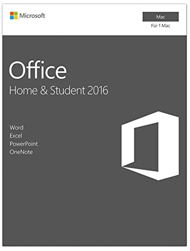 Produktbild Microsoft Office Home and Business 2016 für Mac Download (Lizenz-Key per E-Mail) per Blitzversand. Mit Outlook Word Excel PowerPoint One Note