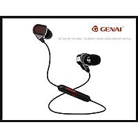 GENAI® Auriculares deporte alta calidad Sport-3 Bluetooth 4.1 Color Negro, auricular bluetooth