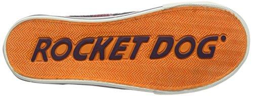 Rocket DogJazzin - Scarpe da Ginnastica Basse donna Multicolore (Multicolor (Altan Red))