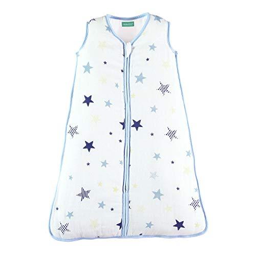 molis&co. Saco de Dormir para bebé de Muselina Premium Acolchado. Súper...