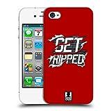 Head Case Designs Get Ripped Fitness Motivation Ruckseite Hülle für iPhone 4 / iPhone 4S