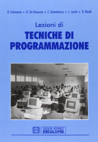 Lezioni di tecniche di programmazione