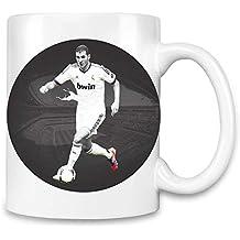 online store 31769 1ebba World Designz Karim Benzema spielt Fußball - Karim Benzema Playing Football  Unique Coffee Mug  11Oz