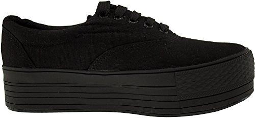 Maxstar  C40-5H,  Damen Sneaker Low-Tops Schwarz
