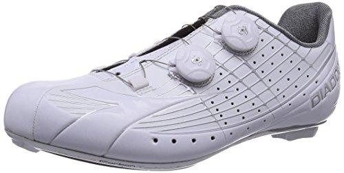 Diadora Vortex-pro, Chaussures de cyclisme spéciales vélo de course mixte adulte Blanc - Weiß (white/white 6570)