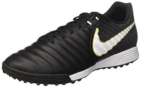 Nike Herren Court Borough Mid Winter Fußballschuhe, Schwarz (Black/White/Black/Metallic Vivid Gold), 45 EU