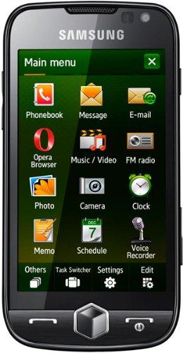 Samsung Omnia II I8000 Smartphone (Touchscreen, 5MP Kamera, Windows Mobile) Rose-Black Band Windows Mobile-telefon