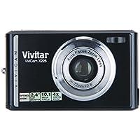 """Vivitar Vivicam X225 - Noir (10.1 mégapixels, HD, zoom optique, écran 2.4 """")"""