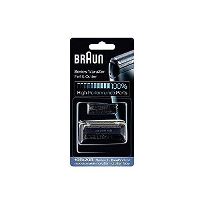 Braun Razor Replacement Foil & Cutter Cassette 10B 20B 180 190 1735 1775 5728 5729 170S (1000/2000 Series) 10B 20B