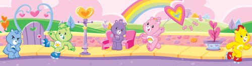 brewster-home-fashions-ps99833-care-bears-rainbow-peel-stick-wall-border-pack-of-2