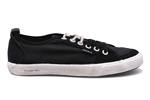 People swalk - Fly suede polycanvas Noir Noir