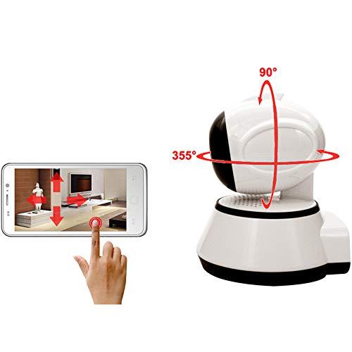 WANGOFUN WiFi-Kameras für die Innere Sicherheit, Wireless Baby Monitor Kamera mit Bewegungserkennung Zwei-Wege-Audio-Nachtsicht für Elder/Pet Kamera-Monitor