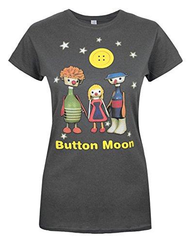 Official Button Moon Mr Spoon & Friends Women's T-Shirt