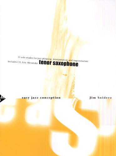 Easy Jazz Conception for Tenor and Soprano Saxophone