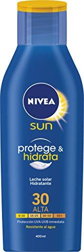 Nivea Sun FP 30+ - Leche Solar Hidratante (protección alta, 400 ml)