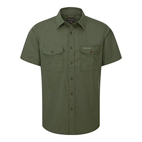 Craghoppers Herren Kiwi Kurzarm Hemd, Faded Indigo, XXXXL