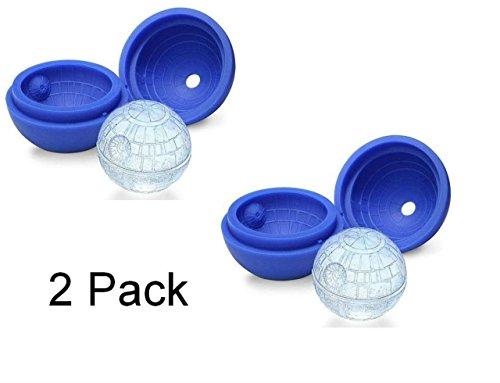Romote DragonPad Silikon-Form-Eiswürfel-Kugel für Star Wars-Liebhaber oder Party-Thema (2 Satz)