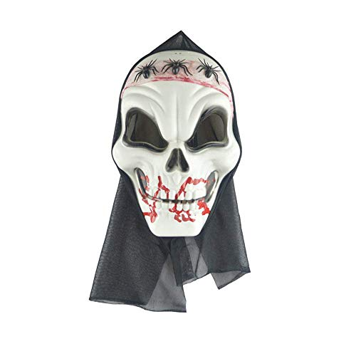 ke Maskerade Prom Maske Halloween Horror Maske Ghost Festival Kopfbedeckung COS Dress Up Bar KTV Aktivitätsmaske Grimasse Gesichtsmaske Spinne ()
