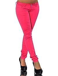 G300 Damen Jeans Hose Hüfthose Damenjeans Hüftjeans Röhrenjeans Röhrenhose