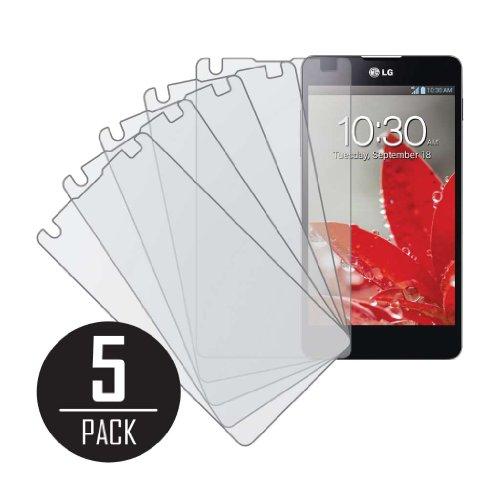 MPERO Sammlung 5 Packung von Matte Anti-Glare Displayschutzfolie Film for LG Optimus G LS970 / E975