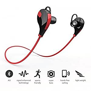 GENERIC Bluetooth Headset for VIVO x5max + (Jogger Headset|| Sports Headset|| Wire less Earphone||Bluetooth Headphone || Exercise Headset || Gym Headset || With Mic )