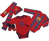 FC Barcelona Blaue Pyjama Beanie + Geschenk Kugelschreiber
