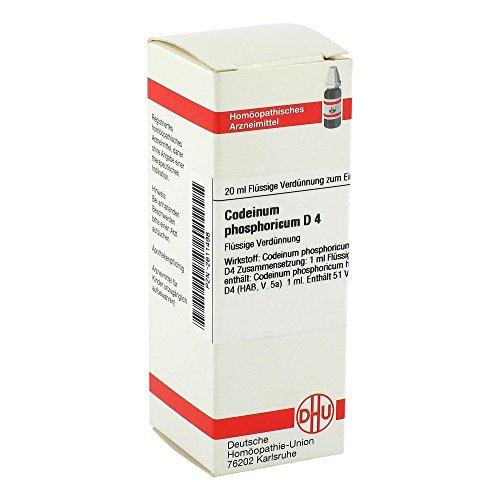 Codein Phosphoricum D 4 D 20 ml