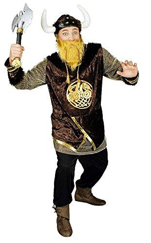 Körner Festartikel Wikinger Ragnar Kostüm für Herren Gr. 46 48