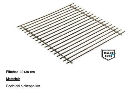 Thüros Rostauflage Edelstahl elektropoliert 30 x 28 cm