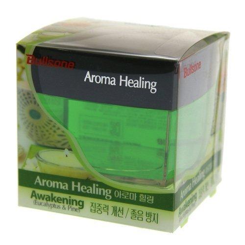 Preisvergleich Produktbild Car Air Freshener, [Eucalyptus & Pine] Bullsone Aroma Healing Awakening by Bullsone