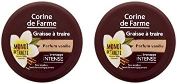 Corine de Farme Graisse à Traire Parfum Vanille 150 ml - Lot de 2