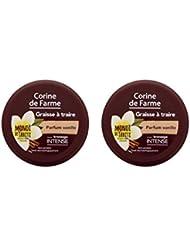 Corine de Farme Graisse à Traire Parfum Vanille 150 ml - Lot de 2