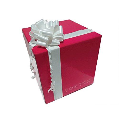 Scatola Regalo Originale Confezione Regalo Box Cubo Regalo Magenta Plastificata Lucida