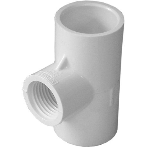 GENOVA PRODUCTS - 10PK 3/4x1/2PVC Red Tee - 0,75 Pvc Tee