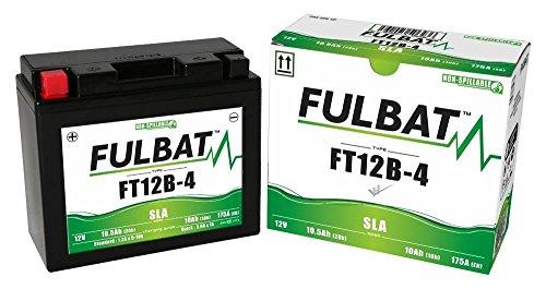 Yamaha TDM 850,900,900A ABS, SLA-GEL Fulbat Batterie FT12B-4