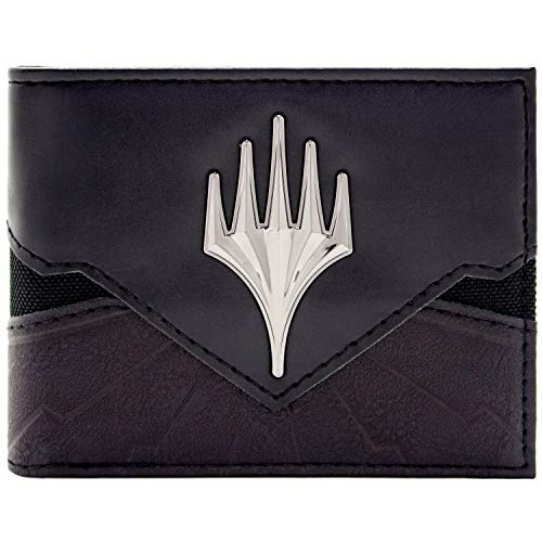 Magic The Gathering Planeswalker Symbol Schwarz Portemonnaie Geldbörse -