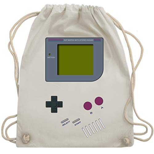Nerds & Geeks - Gameboy - Unisize - Naturweiß - WM110 - Turnbeutel & Gym Bag