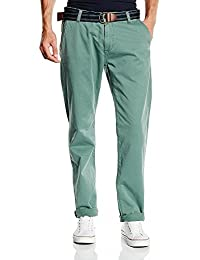 TOM TAILOR Herren Chino Hose pants with belt/510