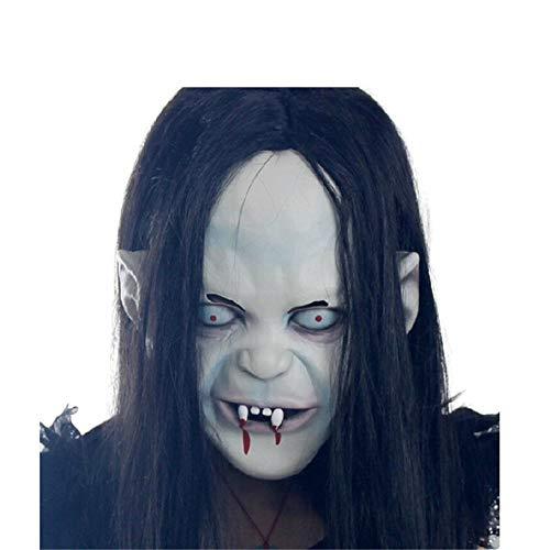 NUOKAI Halloween Maske Terrorist Kopfbedeckung Scary Männer und Frauen Grimasse Masquerade Teufel Latex Clown Maske, Skorpion Maske