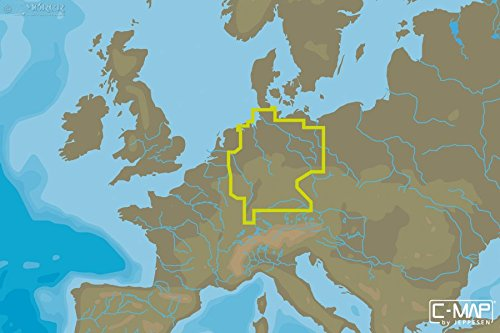 C-MAP - MAX WIDE - Germany Inland - µSD/SD-Karte C-map Karte