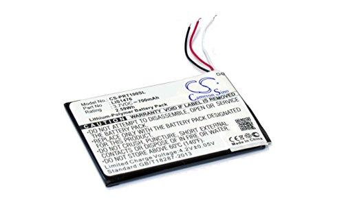 vhbw Li-Polymer Akku 700mAh (3.7V) für eBook Reader Sony Portable Reader PRS-T1, PRS-T2 wie 1-853-104-11, LIS1476, LIS1476MHPPC(SY6). - Sony Reader Für Ebooks