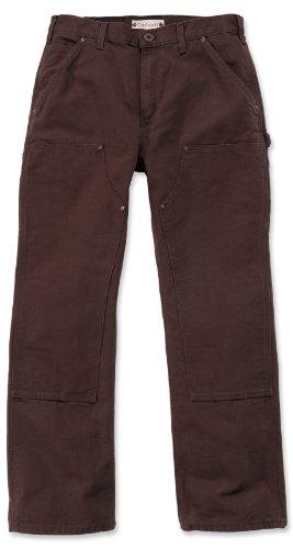 Carhartt eB136 double face work pantalon fin variante du herrenhose b01 bleu foncé