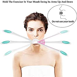 huichang Facial Fitness Muscle Muscle Stengthener Smooths Lines and Wrinkles and tightens Muscles for All Ages