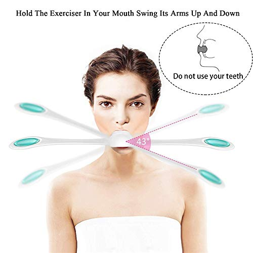 huichang Facial Fitness Muscle Trainer-Anti Aging Muscle Stengthener - Smooths Lines and Wrinkles and tightens Muscles for All Ages