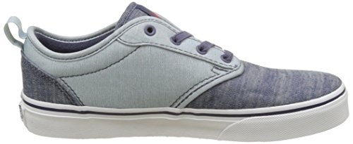 Vans Jungen Yt Atwood Slip-On Sneakers Blau (Chambray)