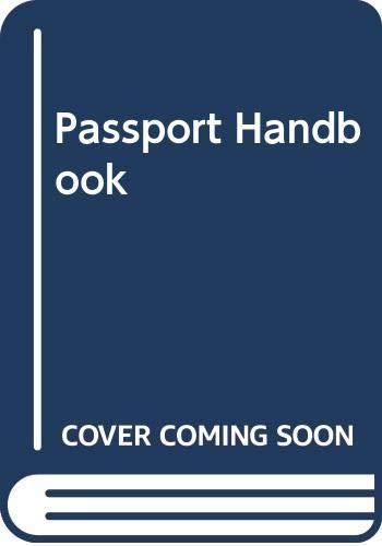 Passport Handbook: To Check the Authenticity of Passports: English Edition