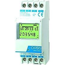 Orbis Data Log OB174012 - Interruptor horario digital de distribuidor, 230 V